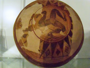 Photo: Dinos with Triangular pattern from Gela, end 7th century BC