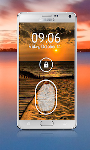 Fingerprint Lock Screen Prank 3