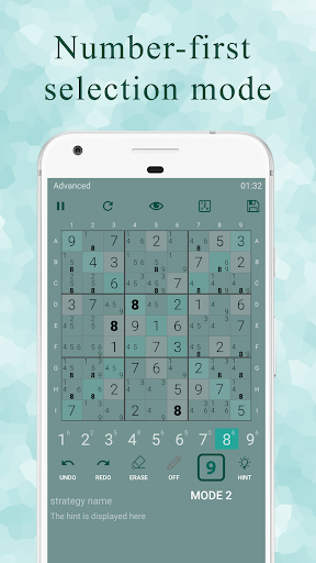 Ninja Sudoku - Logical solver, No ads while gaming 1.7.0 screenshots 4