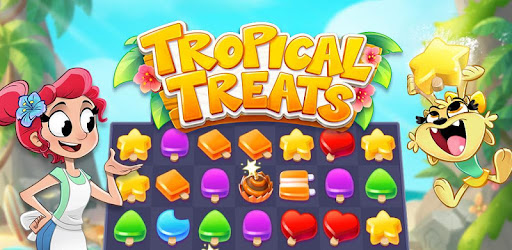 Tropical Treats: Ice Cream Blast - Free Match 3 game (apk) free download for Android/PC/Windows screenshot