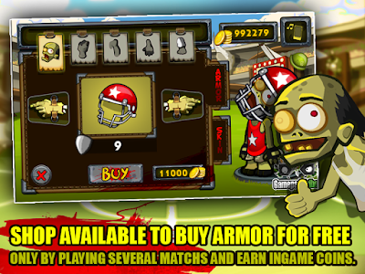 Zombie Smashball v1.4 (Mod Money)