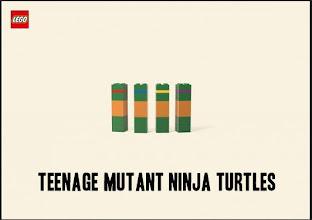 Photo: Minimalistic Lego Cartoon Characters