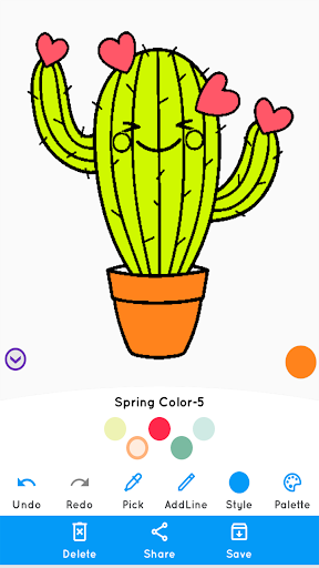 Free Printable Cactus Coloring Pages For Kids | Flower coloring ... | 512x288