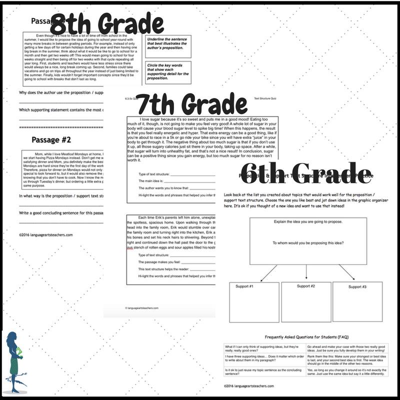 For crazy busy family-loving middle school ELA teachers