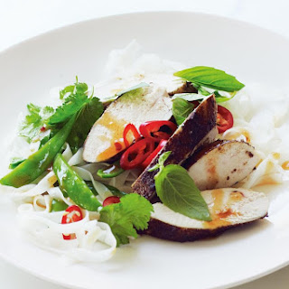 Five-spice Chicken With Sweet Chilli Dressing.