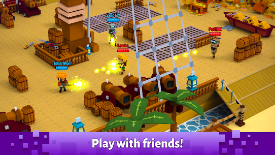 Pixel Arena Online : Multiplayer Blocky Shooter 8