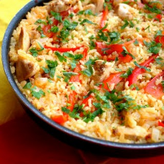 Paella with Chicken and Chorizo Recipe