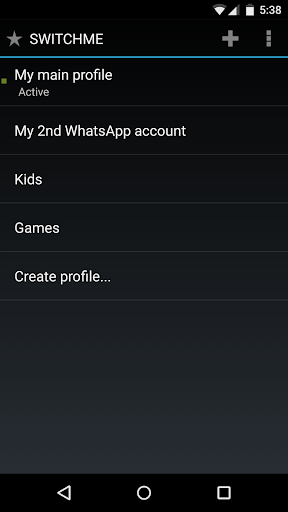 SwitchMe Multiple Accounts screenshot 4