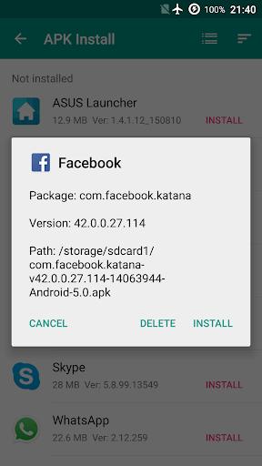 App Manager - Apk Installer 1.0.26 screenshots 6