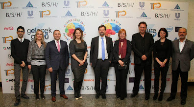 Photo: Soldan sağa: Emrah Kaya, Burçin Girit, Murat Şahin,Anne Skare Nielsen,Juan-Ignacio Conrat Niemerg, Ufuk Tarhan,Gerd Leonhard,Louise Fredbo Nielsen, Cem Tarık YÜksel