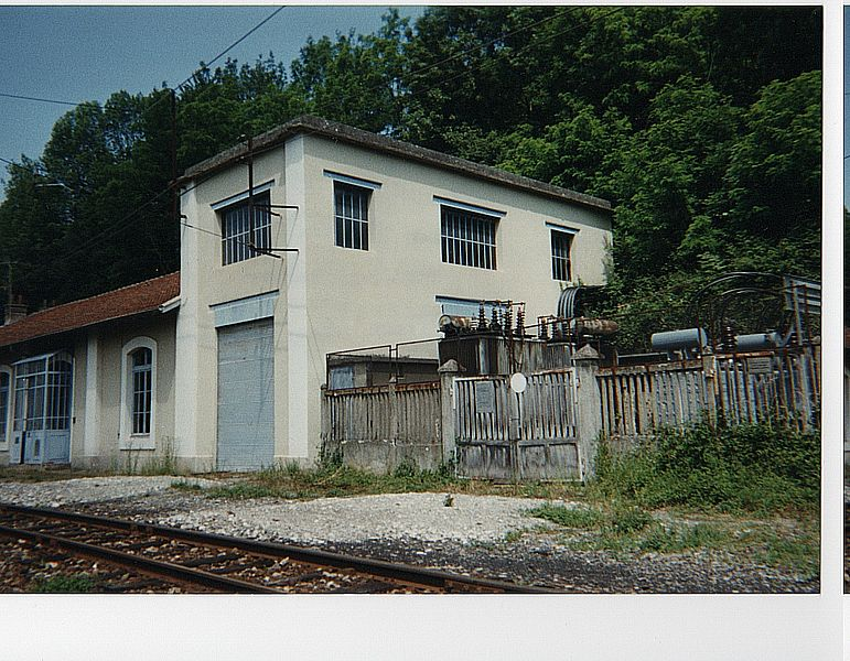 La sous station SGLM de La Motte les Bains