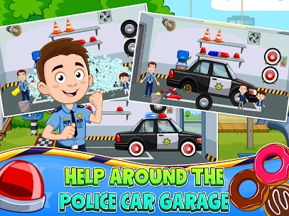 My Town : Police Station Pretend games for Kids 8