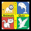 Animal Quiz-World of Mammals Reptiles Birds more. icon