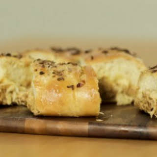 French Onion Soup Garbage Bread.