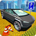 Classic City Car Parking: Cyber truck Parking 2020 icon