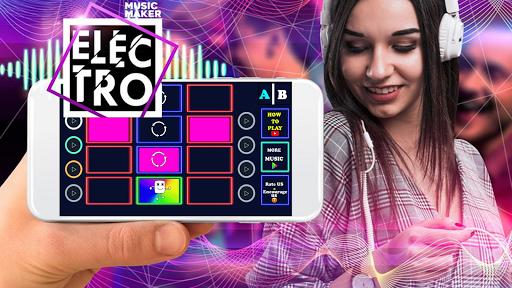 Marchmello Launchpad - EDM Dj beat mixer apkdebit screenshots 4