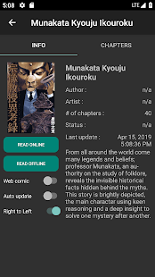 App Mandrasoft Mangas APK for Windows Phone