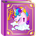 Unicorn Diary with a Lock icon