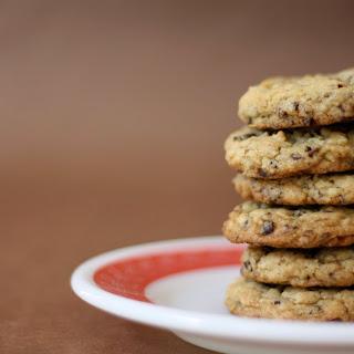 Oatmeal Cocoa Nib Cookies.