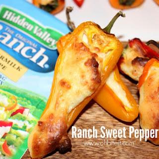~Ranch Sweet Pepper Poppers!