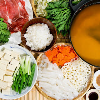 Buta Nabe (Pork Miso Hot Pot).