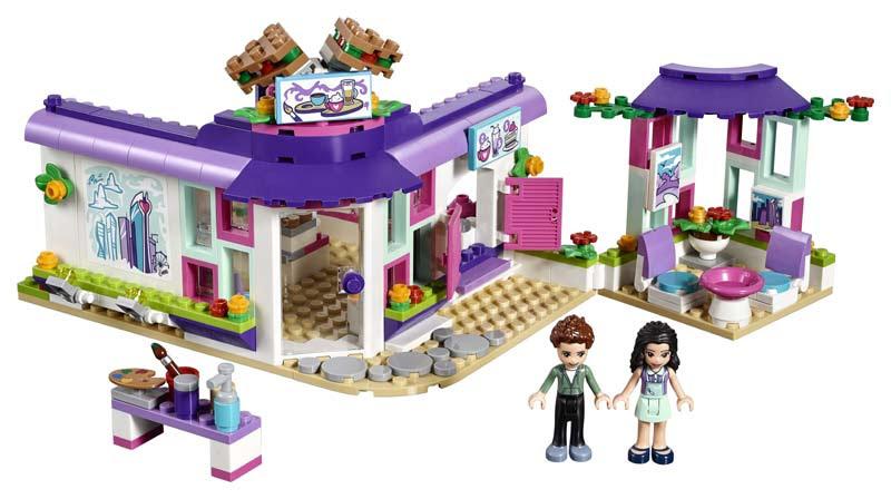 Contenido de Lego® 41336 Café del Arte de Enma
