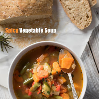 Easy Spicy Vegetable Soup Recipe