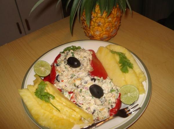 My Tropical Chicken Salad Recipe