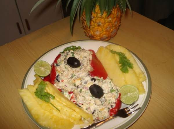 My Tropical Chicken Salad