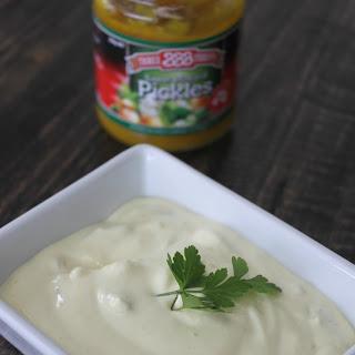 Sweet Mustard Pickle Dip