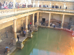 Photo: Roman Baths, Bath, England