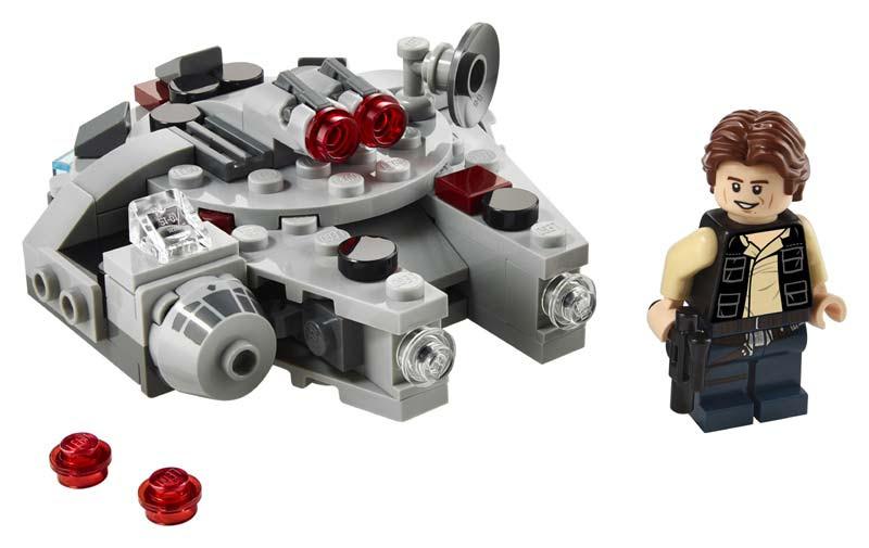 Contenido de Lego® 75295 Microfighter: Halcón Milenario