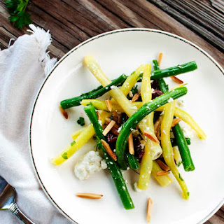 Green Bean Salad with Goat Cheese and Almonds