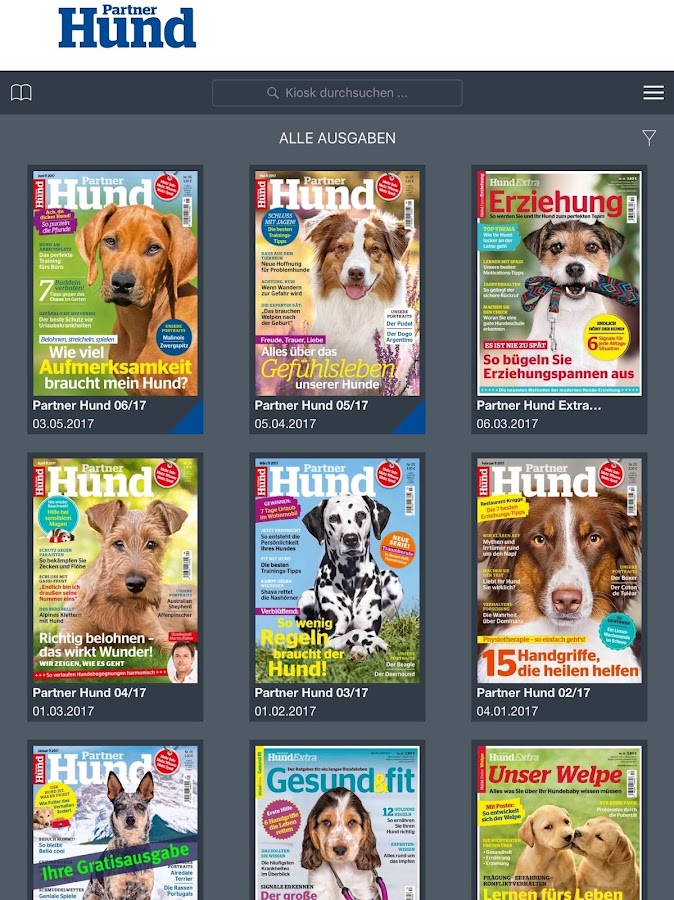 Partner Hund Magazin- screenshot