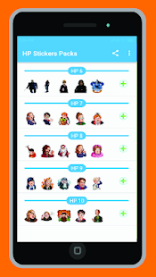 Harry Potter Stickers,WAStickerApps Screenshot