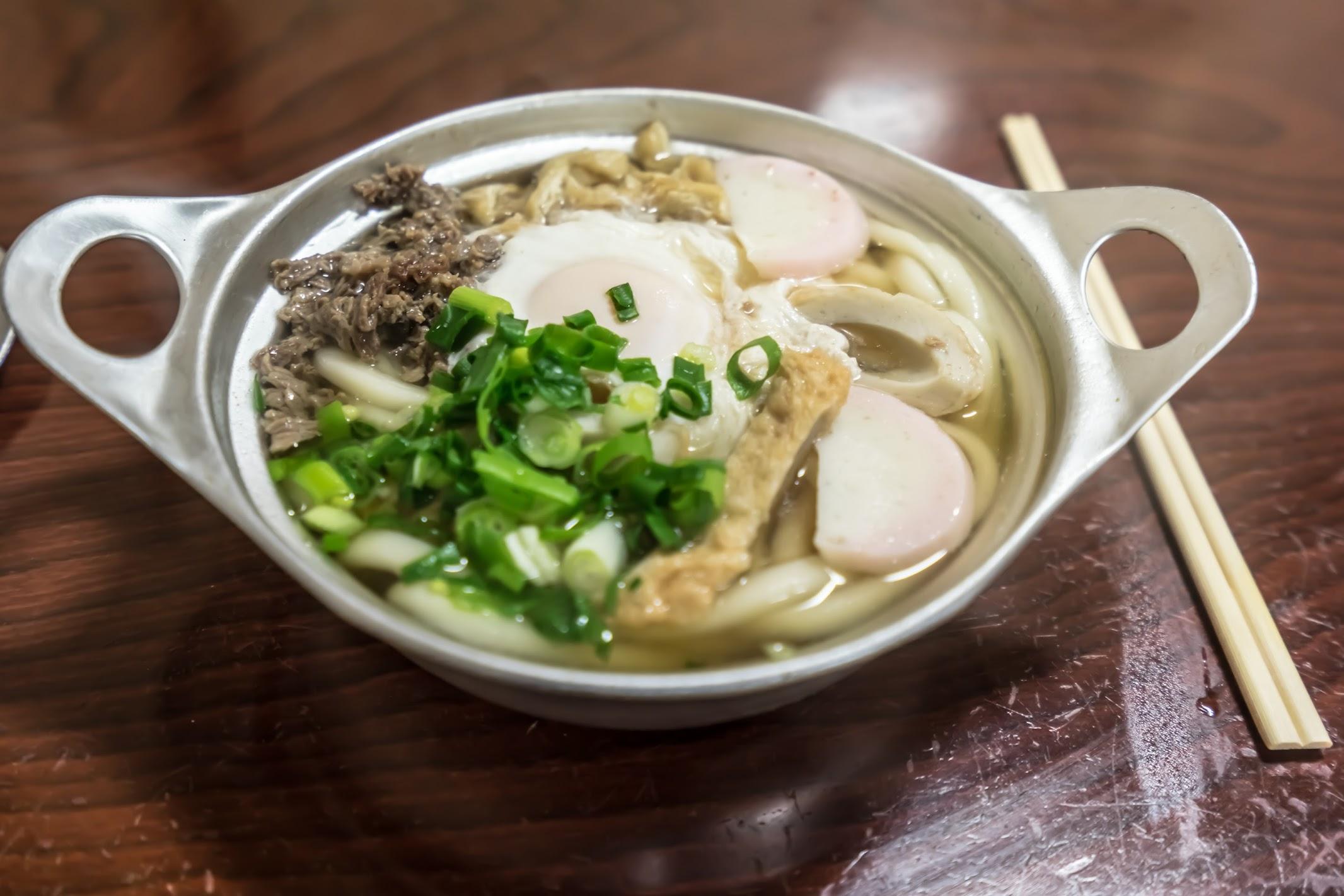 Matsuyama Asahi Nabeyaki udon