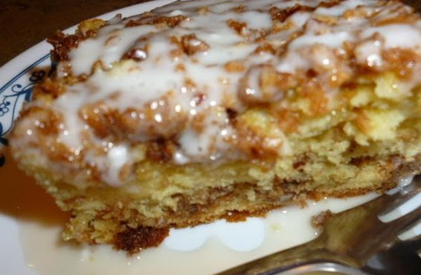 Graham Streusel Coffee Cake Recipe