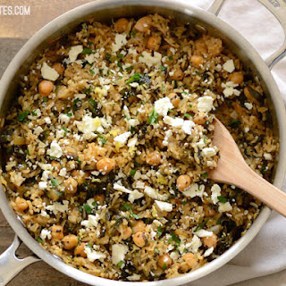 Spinach Rice Pilaf Recipes