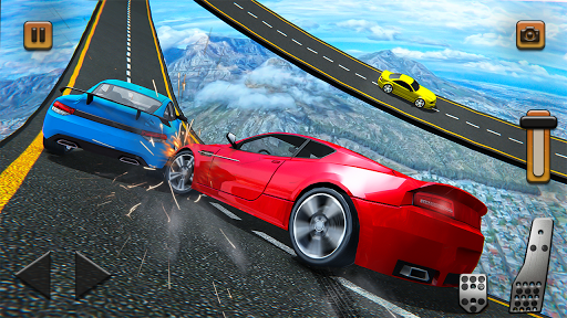 Impossible Tracks Car Mountain Climb Stunts Racing screenshot 5