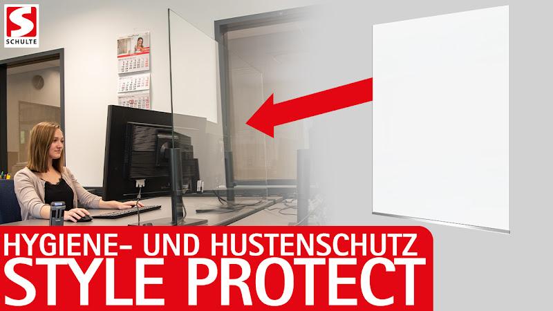 """Video: Hygiene- und Hustenschutz Variante 4 """"Style Protect"""""""