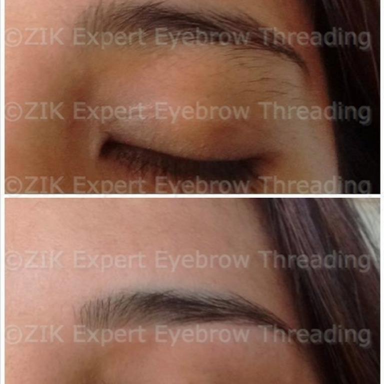Zik Expert Eyebrow Threading Eyebrow Threading Service Serving