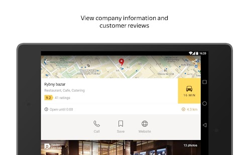 Yandex.Maps- screenshot thumbnail