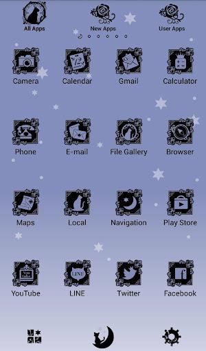 Gothic-Starry Sky, Black Cat- 1.0.1 Windows u7528 3