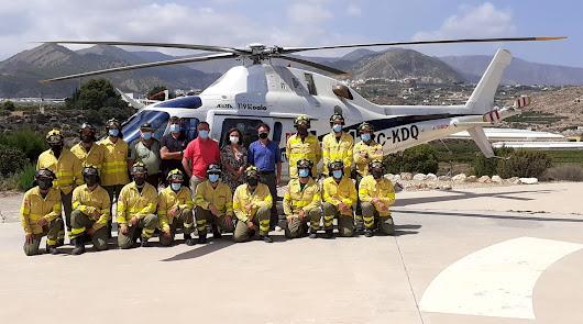 Destacan la labor del Centro de Defensa Forestal de Alhama contra los incendios