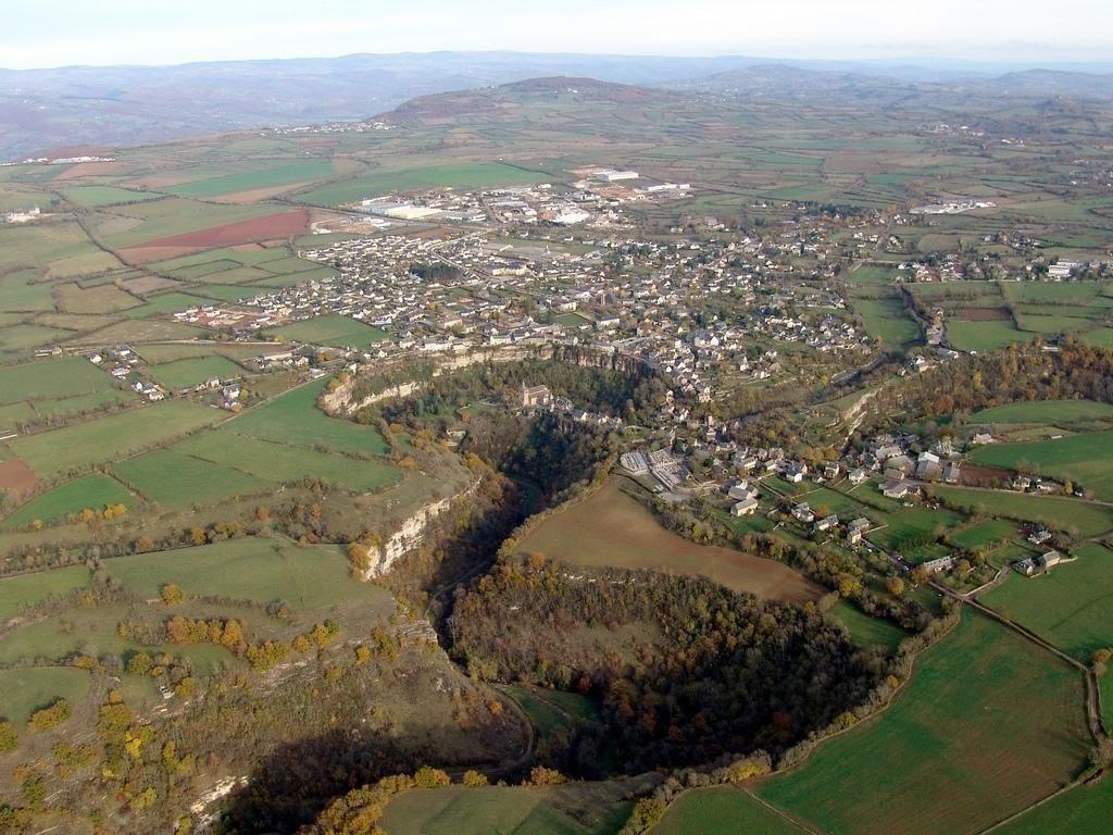 O Buraco de Bozouls na França