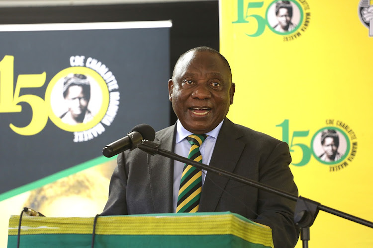 President Cyril Ramaphosa said he had not supported the move to remove former president Jacob Zuma from office.