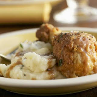 Southern Fried Chicken With Cream Gravy.