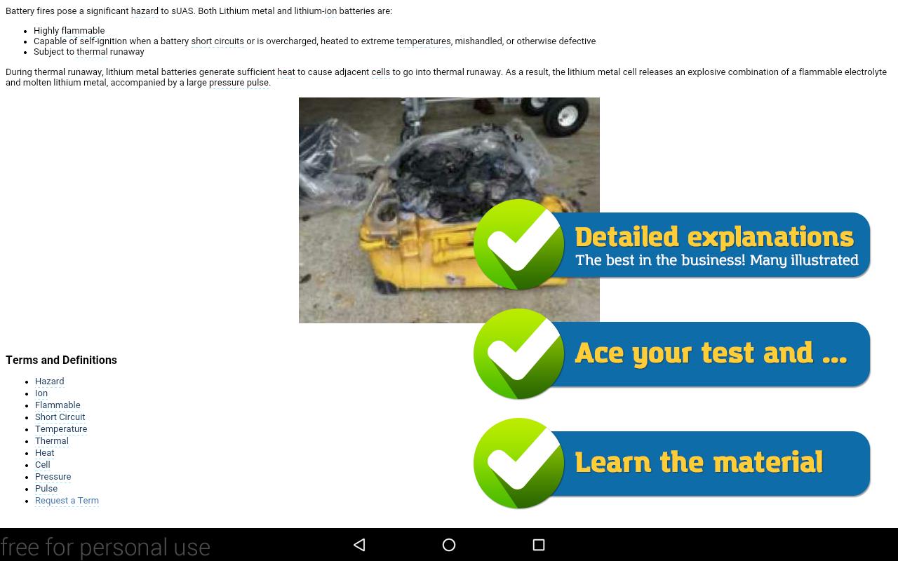 Drone Pilot (uas) Test Prep Screenshot