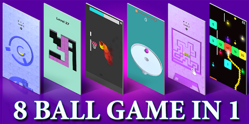 Flappy ball - Color ball stack in Maze 8 ball game 1 APK MOD screenshots 1