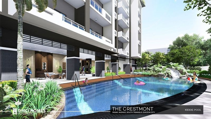 The Cresmont, Panay Avenue, Quezon City kiddie pool